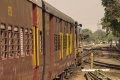 Shekhawati Express 010 - ... into one of the stabling lines