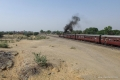 Shekhawati Express 073 - The loco revs up for the final approach into Fatehpur_