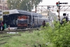 Train to Patalpani 005 - Mhow station viewed from the level crossing