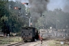 Train to Patalpani 021 - YG 4029 is going tender first to Kalakund and will bank a passenger train up the steep gradient to Mhow 1997