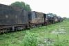 Train to Patalpani 028 - Today 3 rusting YP locomotives stand testimony to the glorious days of steam