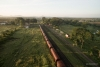 Train to Patalpani 031 - A few tankers, boxcars and flatcars are stabled at Patalpani