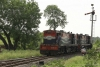 Train to Patalpani 035 - A loco reverses with a banker onto a Kalakund bound train at Patalpani