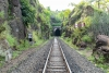 Train to Patalpani 050 - Brake Test point no.1 in front of Tunnel No.2