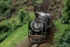 Train to Patalpani 051 - YG 3172 emerging from the cutting of Tunnel No.2 enroute Kalakund 1991
