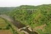 Train to Patalpani 068 - Train 52988 speeds on towards Mhow having crossed Ravine Viaduct No.2