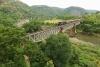Train to Patalpani 080 - Train 52988 ex-Akola on Choral Bridge No.1 running about an hour late