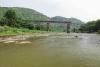 Train to Patalpani 081 - Train 52975 ex-Mhow on the Choral River Bridge No.1