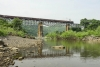 Train to Patalpani 083 - Train 52988 enroute Mhow crosses Choral Bridge No.1