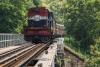 Train to Patalpani 089 - Train on Choral Bridge No.2 - the Devils Bridge No.666