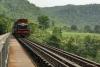 Train to Patalpani 090 - Train 52988 crosses Choral Bridge No.2