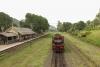 Train to Patalpani 101 - YDM4 6737 awaits ts next banking assignment at Kalakund