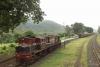 Train to Patalpani 105 - Banker YDM4 6737 backs on to train 52974 to Mhow at Kalakund