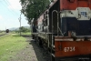 Train to Patalpani 110 - The locos seperate and then back onto to their respective trains