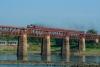 Train to Patalpani 116 - Perfect lighting and setting on the Omkareshwar bridge
