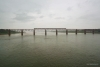 Train to Patalpani 119 - Train 52988 to Mhow on Omkareshwar Bridge on a rainy day
