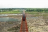 Train to Patalpani 121 - Train 52964 enroute Mhow on the bridge at Omkareshwar