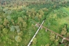 Train to Patalpani 134 - Train 52974 completes the 270 degree turn on the Dhulghat spiral