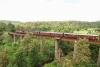 Train to Patalpani 139 - Akola bound train 52973 traverses the Dhulghat spiral viaduct