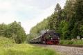 Dampfspektekal 2014 020 - Running tender first north of Moosbachtal