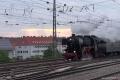Dampfspektekal 2014 124 - BR 52 4867 shunts a rake into Neustadt station