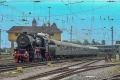 Dampfspektekal 2014 125 - BR 52 7596 draws into Neustadt from Landau