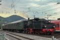 Dampfspektekal 2014 129 - Speyerbach shunts back a rake from the station into the sidings