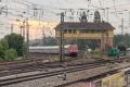 Dampfspektekal 2014 141 - AN IC service departs in the direction of Mannheim