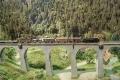 Hochschwarzwald 11 - Mixed freight on the Ravenna Viaduct heading to Freiburg Wiehre