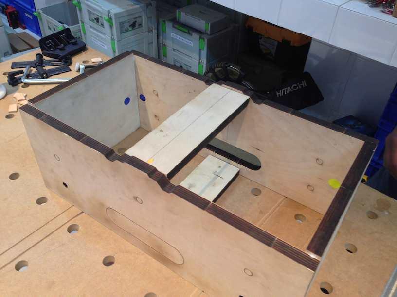 module construction assembled