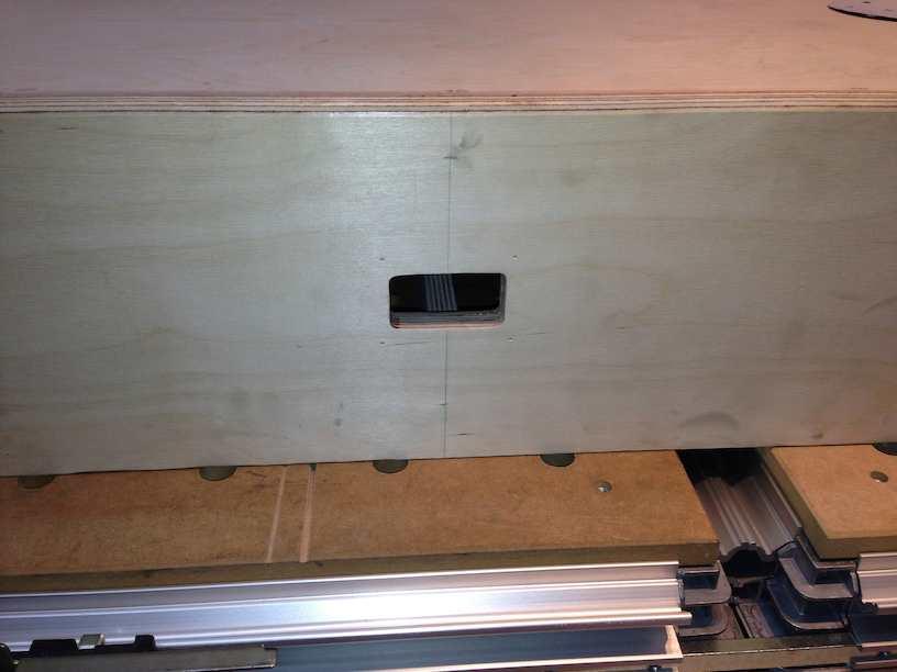 module construction digitrax panel hole
