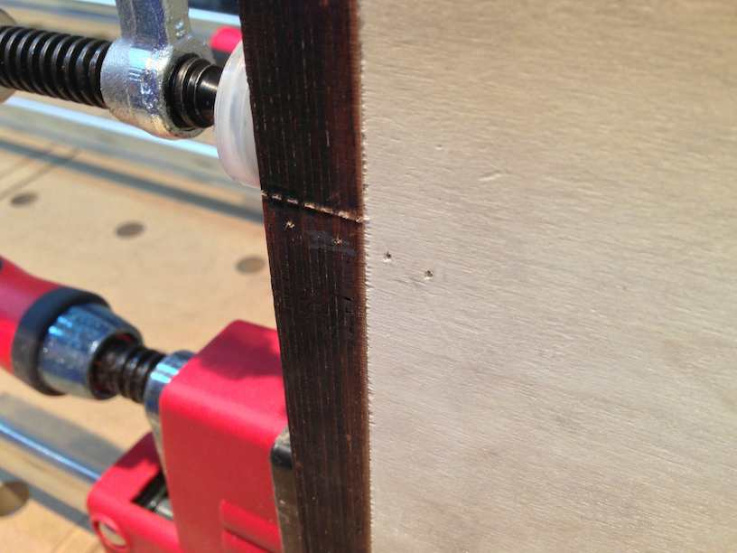 module construction pin nailed