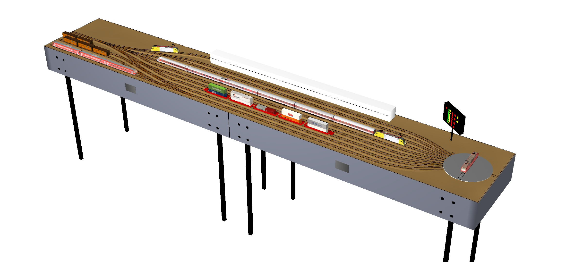 Ho Track Wiring With Dcc House Diagram Symbols An Scale Layout Turnouts Kato Elsavadorla Simplified