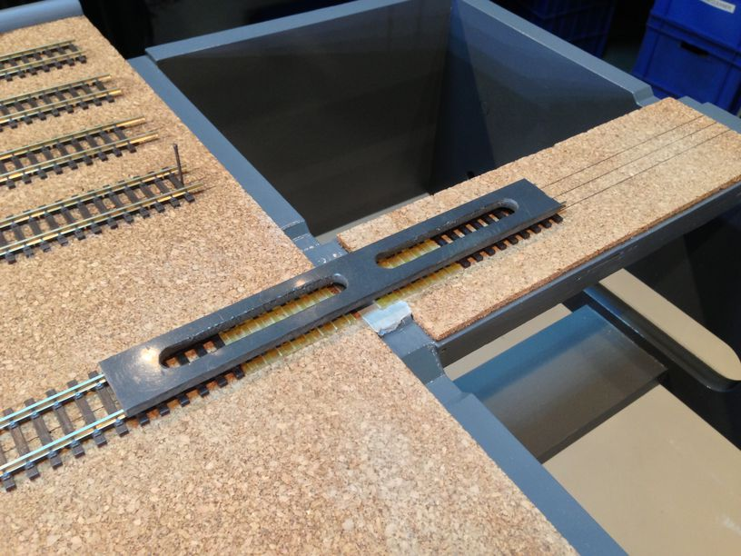 alignment modules rail straight gauge