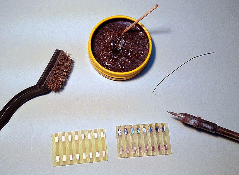 track across modules flextrack soldering tieplates