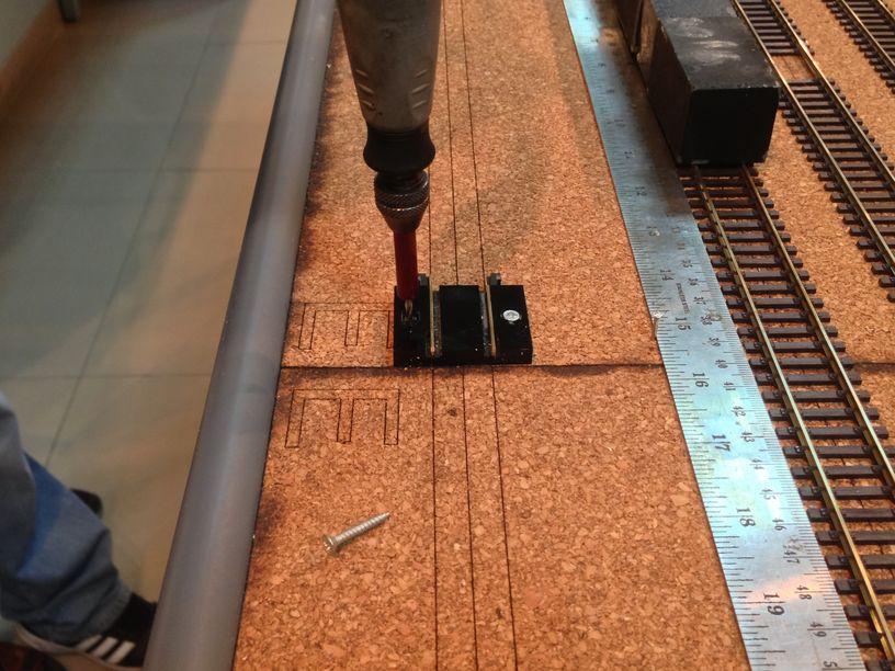 track across modules install adaptor train safe