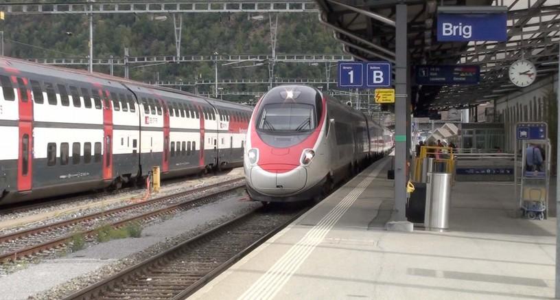 switzerland sep 2013 brig to laussane footplate ride arrives