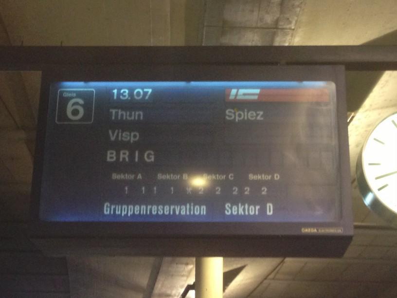 switzerland sep 2013 loetschberg footplate departure boards