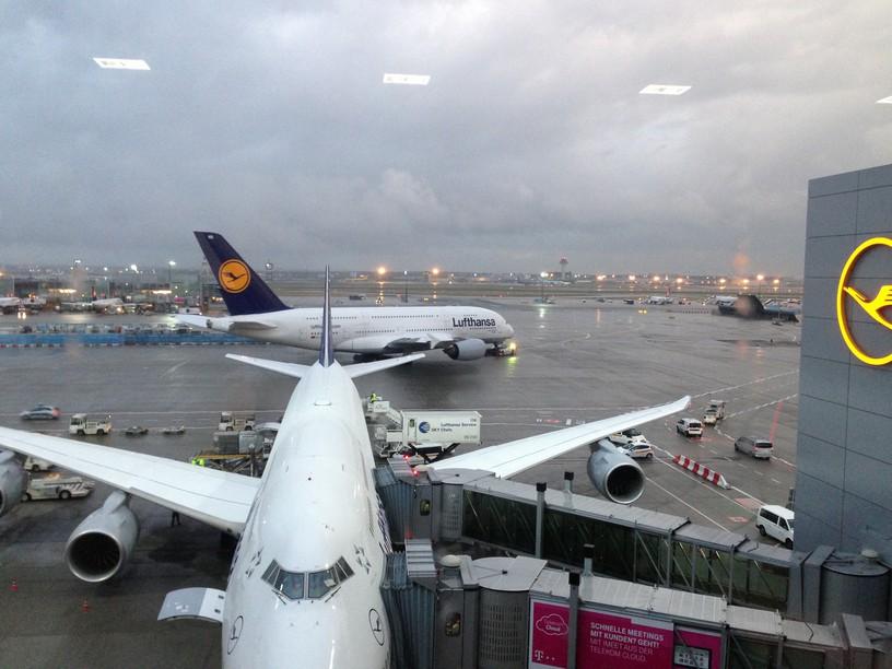 switzerland sept 2013 frankfurt airport