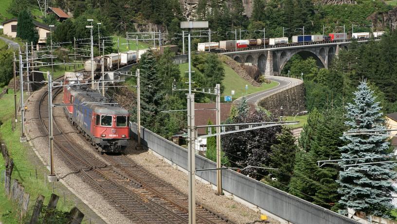 switzerland sept 2013 freight on middle level