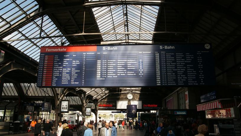 switzerland sept 2013 hbf departure board