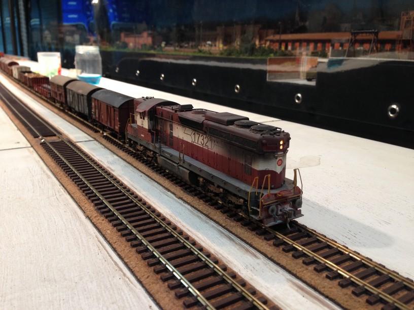 first fremo meet WDM lookalike hauls german freight