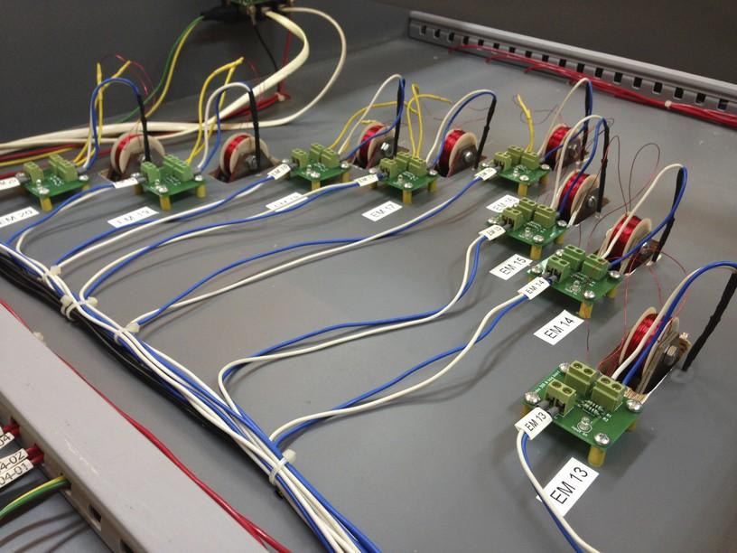 wiring EMs installed