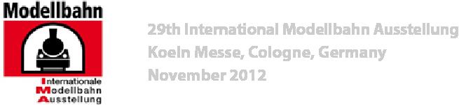 Koln modellbahn 2012 photo gallery logo 150