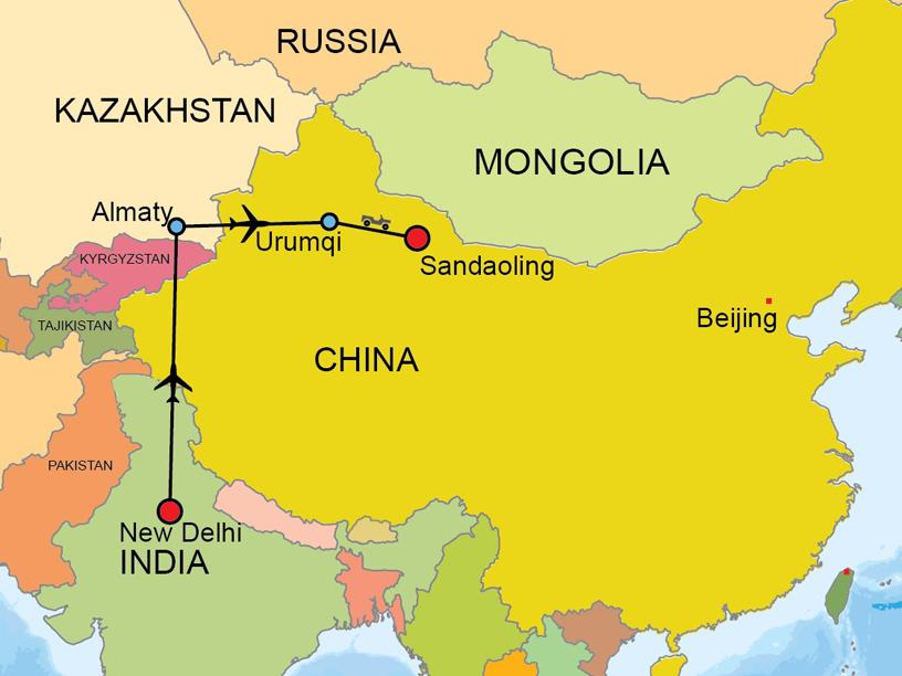 sandaoling map 816
