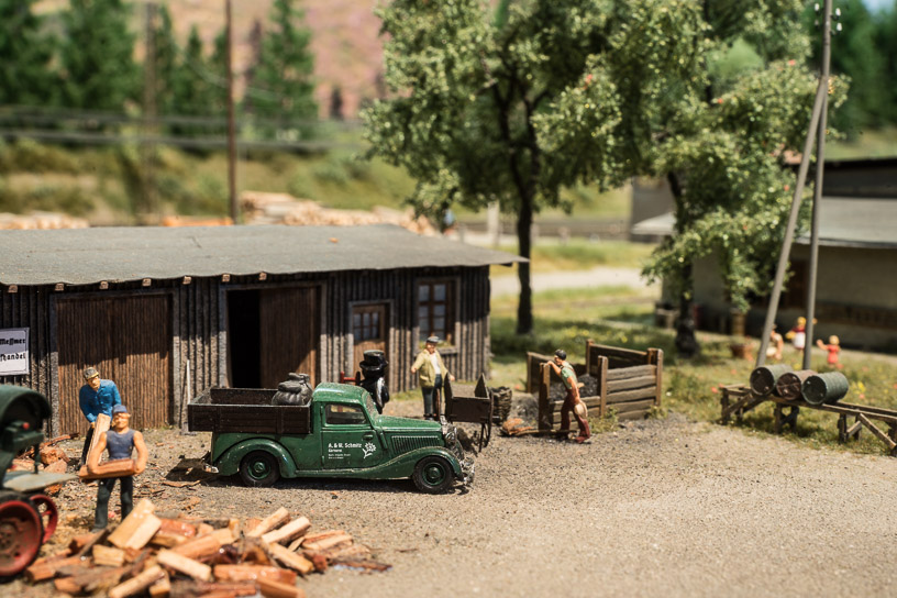 Hochschwarzwald blog 12 - Coal and wood retailer at Neustadt