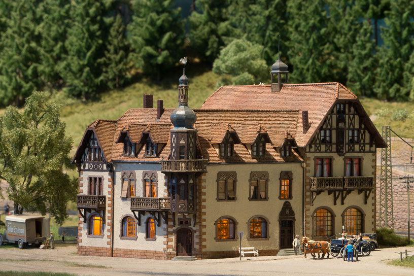 Hochschwarzwald blog 14 - The Neustadter Hof Hotel, another sturcture by MBZ