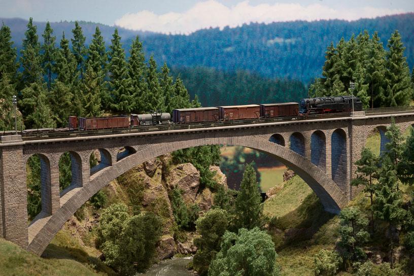 Hochschwarzwald blog 18 - The length of the Gutach bridge is 141 meters