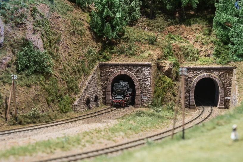 Hochschwarzwald blog 22 - Tunnels on the approach to Lenzkirch