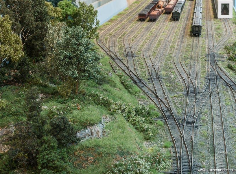 abendstern trackwork staging yard throat